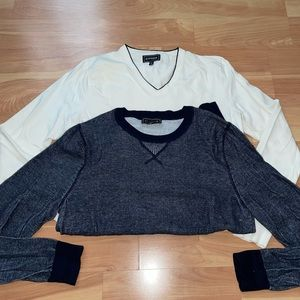 Lot of 2 express classic sweaters size small in excellent condition